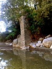 Medieval bridge on the Albegna river