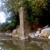 Medieval bridge on the Albegna river